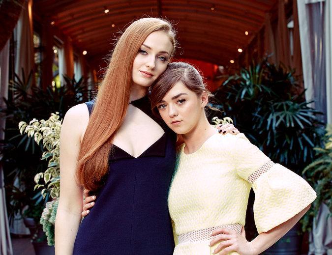 Arya-Sansa-Stark-foto