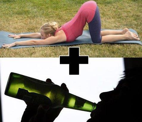 Yoga-Alcol-