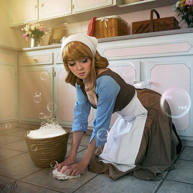 Ginny-DiGuiseppi-Cenerentola-cosplay-3