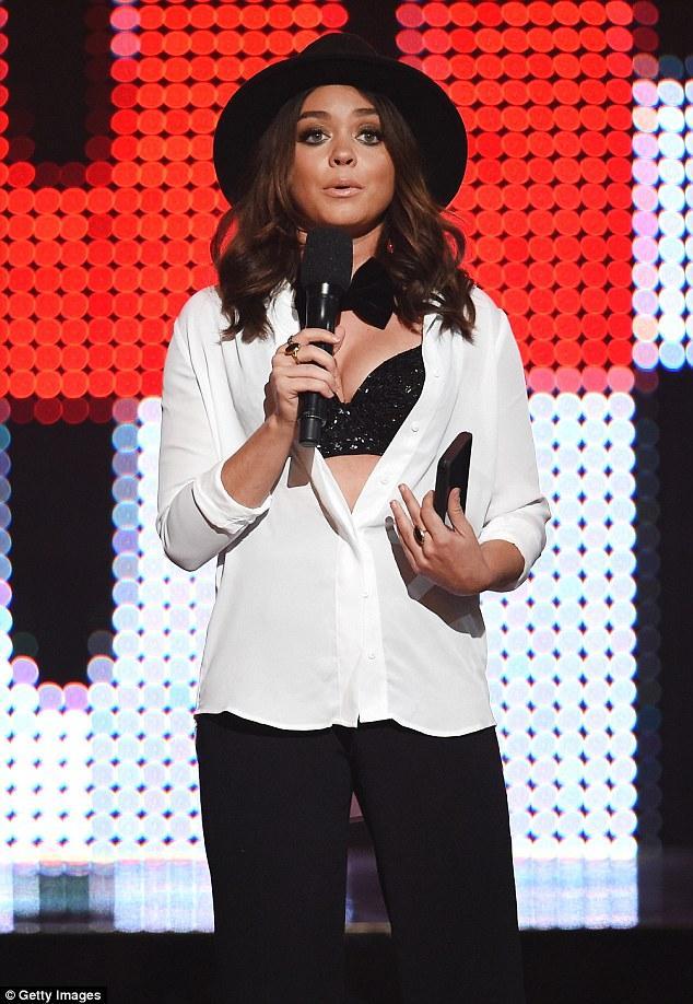Sarah-Hyland-TV-Guys-Choice-Awards-foto-ante