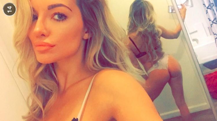 Snapchat: 20 foto direttamente dal cellulare di Lindsey Pelas – FOTO 1/2