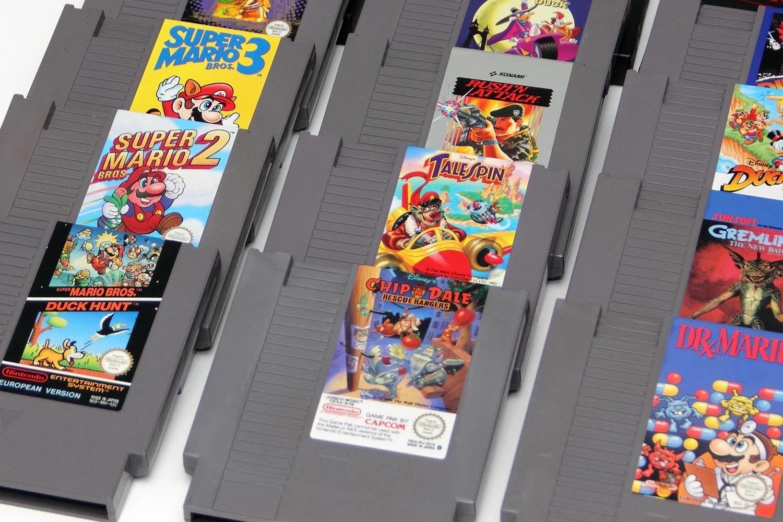 Nintendo-Cartridges