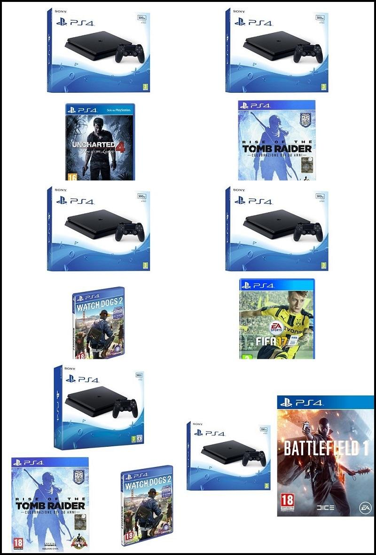 Black Friday Bundle PlayStation 4 Slim su Amazon