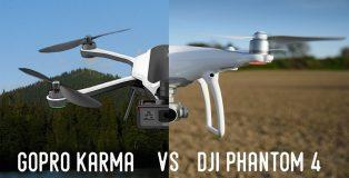 GoPro Karma vs Phantom 4