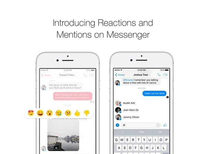 Mentions-Reactions-chat-Messenger