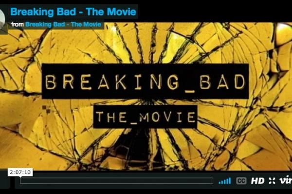 Tutto Breaking Bad rieditato in un film da 127 minuti