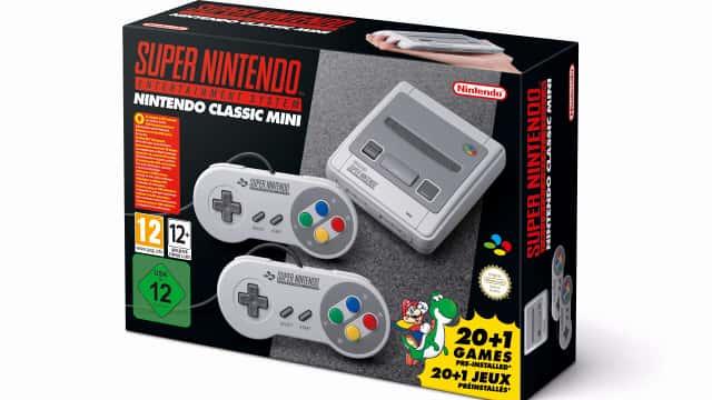 Nintendo-Classic-Mini-SNES-Scatola