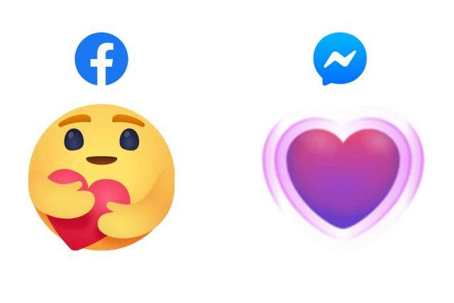 Facebook emoji abbraccio